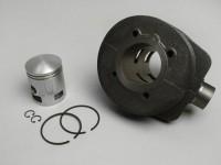 Cylinder -PIAGGIO 150 cc 3 Ports- Vespa PX125, PX150, Cosa125, Cosa150, GTR125, TS125, Sprint Veloce (VLB1T 0150001-), LML Star 125/150, Stella 125/150