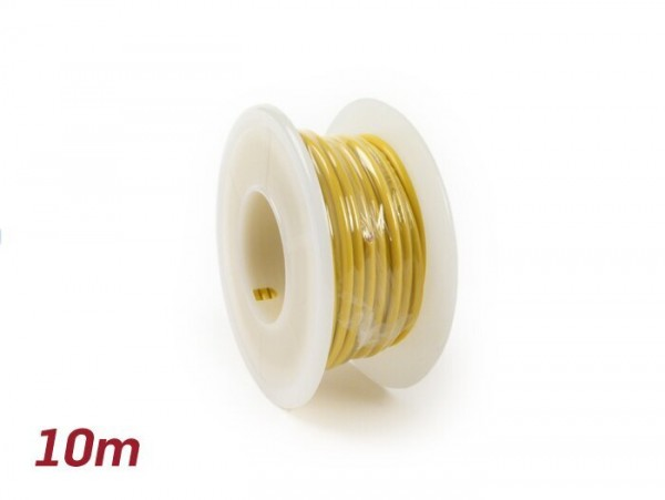 Electric wire -UNIVERSAL 2.0mm²- 10m - yellow