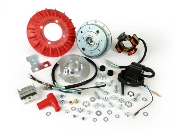 Zündung -MALOSSI VesPower MK2- Vespa V50, V90, PV125, ET3, PK S (Konus 19mm) - Modelle ohne Bremslicht