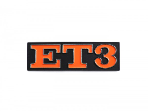 Schriftzug Rahmen hinten -OEM QUALITÄT- Vespa ET3 (Rechteck) - Vespa ET3 125 (ab Bj. 1976)