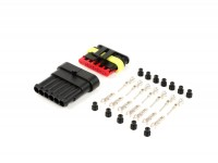 Plug set for wiring harness -BGM PRO-type series 060 AM SpecialSeal, 0.85-1.25mm², waterproof - 6 contact plugs