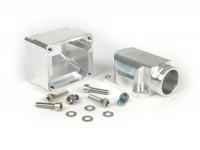Intake manifold -MRP reed valve CNC LML- Vespa Largeframe PX, Rally, Sprint, Cosa, T5 125cc - Øinner=30mm - CS=34mm