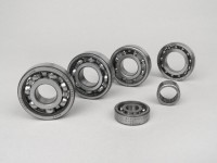 Ball bearing set for engine -SCOOTER CENTER- Vespa Smallframe V50, V90, SS50, SS90, PV125, ET3, PK S, PK XL - 6204 TN9
