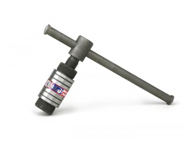 Extractor -MADE IN INDIA- M28x1,0 (exterior) HD- (extractor rotor volante Vespa PX, PK, Piaggio 125-180cc de 2 tiempos)