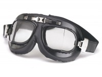 Vintage riding goggles -RB Navigator- black
