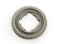 4th gear cog -OEM QUALITY, 4-speed gearbox- Vespa V50, V90, 50N, PV125, ET3, SS50, SS90, PK S, PK XL1, PK XL2, ETS - 46 teeth