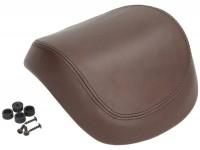 Top case back rest - PIAGGIO Vespa- 32l - brown, leather - Vespa Primavera 50 (ZAPC53100, ZAPC53200), Vespa Primavera 125 (ZAPM81100), Vespa Primavera 150 (ZAPM81200), Vespa Sprint 50 (ZAPC53101, ZAPC53201), Vespa Sprint 125 (RP8M82111, ZAPM81300, ZA