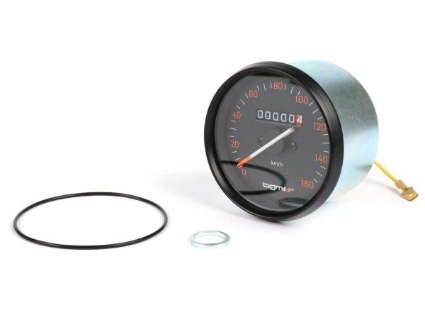 Tacho -BGM PRO- Vespa Ø=85mm - PX alt (bis Bj. 1984) - 160km/h
