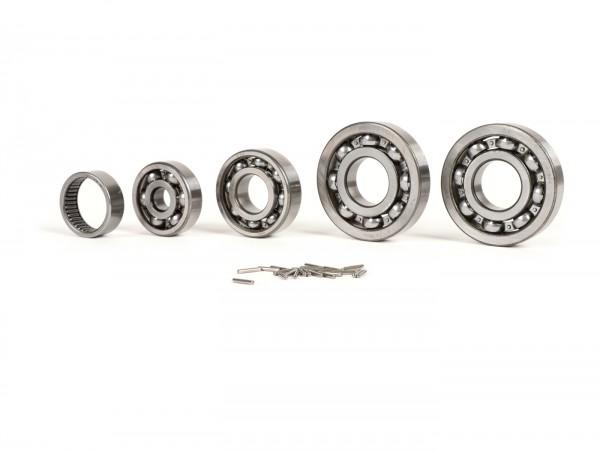 Kugellagersatz Motor -SCOOTER CENTER- Vespa Largeframe GT125 (VNL2T 60901-), GTR125 (VNL2T -145900), TS125 (VNL3T -18138), Sprint150 (VLB1T 73900-), Sprint150 Veloce (VLB1T -294259)