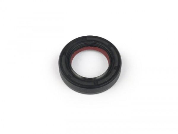Wellendichtring 19x30x6,5mm -MALOSSI PTFE/FKM- (verwendet für Kurbelwelle Antriebseite Piaggio 50 ccm 2-Takt)