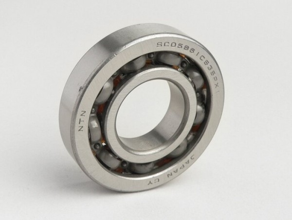 Kugellager -BB1 3096- (25x56x12mm) 9 Kugeln - (verwendet für Kurbelwelle Honda 50 ccm (Typ Bali), Peugeot 100 ccm)