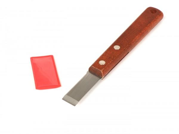 Spatola rimuovi guarnizione -BUZZETTI- acciaio inox, 15mm