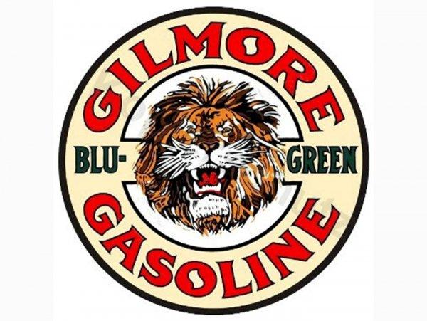 "Adhesivo -Ø 80mm- ""Gilmore Gasoline"""
