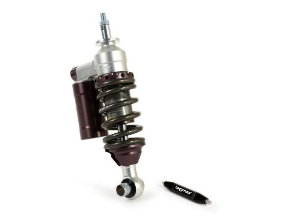 Stoßdämpfer vorne -BGM PRO SC/F16 COMPETITION, 200mm- Vespa V50, PV125, ET3 - grau