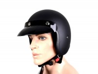 Helmet -BANDIT Jet- matt black - M (57-58cm)