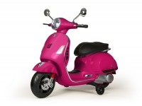 Scooter for kids -Vespa GTS 125-300- electric - pink
