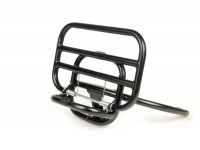Rear rack, fold down -BGM STYLE- Vespa GTS 125-300, GTV- black