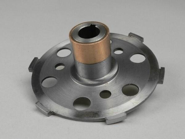 Kupplungsgrundplatte -VESPA Typ 6-Federn (Ø108mm, VNB4, VNB5, VNB6, GT125, GTR125, Super, TS125, VBB2T, GL125, GL150, Sprint125, Sprint 150, Super125, Super150)- (Typ Sprint)