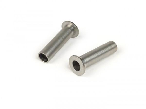 Dowel pin cylinder head -PLC CORSE M8- Vespa PX 200, T5 125cc, Rally, Cosa 200, Lambretta LI, LIS, SX, TV, DL, GP