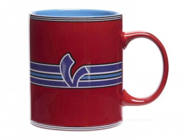 "Mug -VESPA ""V-Stripes""- red"