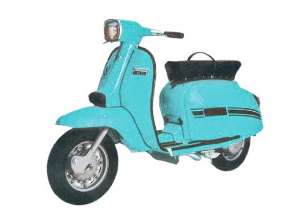 Lambretta (Innocenti) DL 125 (GP 125)