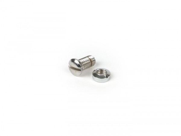 Schraube für Schaltzugaufnahme am Lenker -OEM QUALITÄT- Vespa Wideframe V30T bis V33T, VM1T, VN1T, Vespa 150 VL1T-3T, GS150 (VS1T)