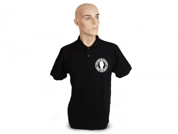 Polo-shirt, Herren -Um halb an der Bar- XXL