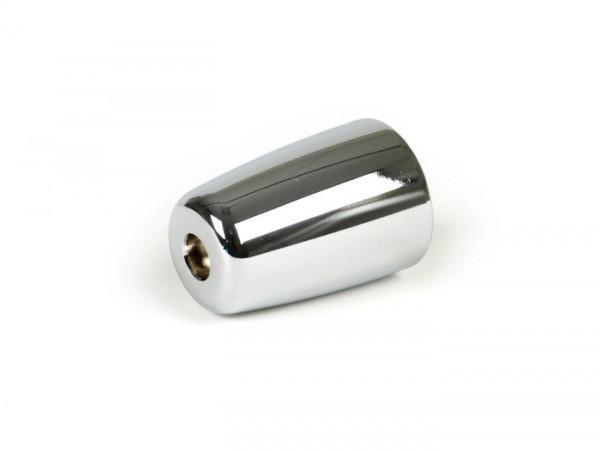 Handlebar end weight, antivibration -PIAGGIO- Vespa GT 125-200, GTL 125-200, GTS125-300, GTS i.E. Super 125/300, GTV 125-300, S 50-150 - chrome - 470g