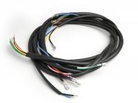 Mazo de cables -VESPA- Vespa 125 VNB6T, Super, GT125 (VNL2T), GTR125 (VNL2T), TS125 (VNL3T), Sprint150 (VLB1T), Sprint Veloce, Rally180 (VSD1T) - pulsador claxón contacto tipo NA (sin batería)