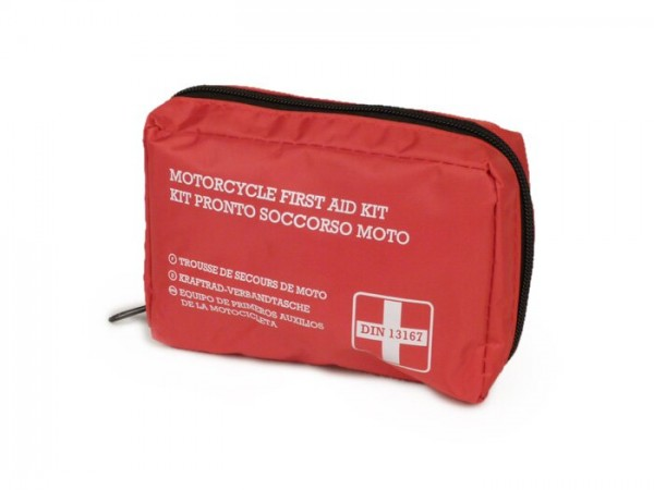 Trousse de premiers secours - moto/scooter -RMS- DIN13167 - 28 pièces