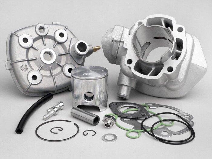 Cylinder -ITALKIT 70 cc Alloy Eco- Morini LC (type Suzuki/Aprilia)