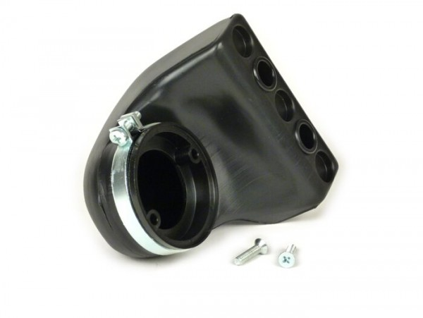 Filtro de aire - airbox (sin filtro) -POLINI- Vespa V50, PV125, PK50, PK80, PK125 (Dellorto SHBC19, SHBC20)