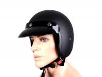 Helmet -BANDIT Jet- matt black - XXL (63cm)