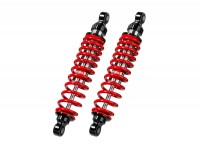 Shock absorber set rear -BITUBO WMB, 340mm- Vespa GT, GTL, GTS, GTV 125-300 - red