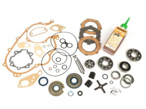 Engine repair kit -VESPA- Vespa 125cc/150cc 3 tranfer ports - Vespa GTR125 (VNL2T), TS125 (VNL3T), Sprint150 Veloce (VLB1T 0150001-)