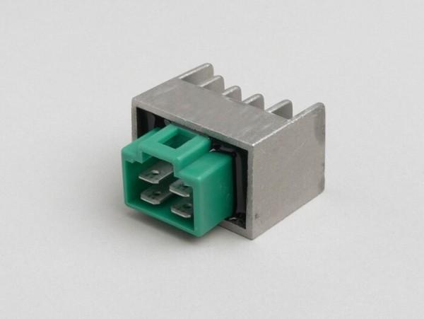 Spannungsregler -OEM QUALITÄT- 4-Pin- Minarelli 50 ccm (ab Bj. 2004)
