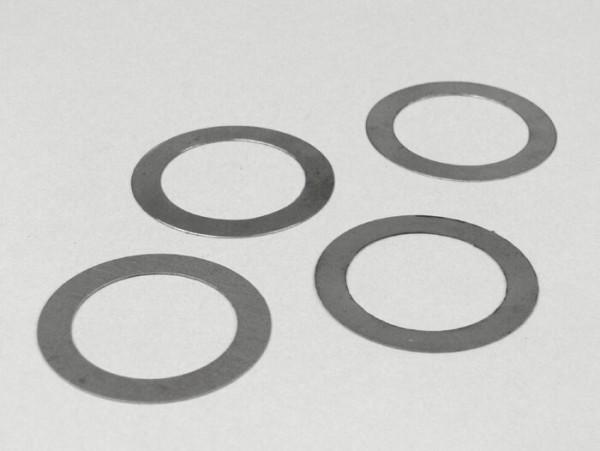 Ausgleichscheiben-Set Kupplungsspinne -MB DEVELOPMENTS- Lambretta Serie 1-3 - (33,50x24,05x0,15mm /0,20mm /0,25mm /0,30mm)