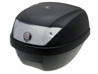 Topcase -101 OCTANE 28L- 395x300x395mm- schwarz - Reflektor weiß