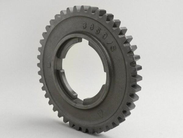 2nd gear cog -PIAGGIO- Vespa P-range (-1984) 125cc, 150cc, 200cc, PX EFL 125cc, 150cc, 200cc - 42 teeth