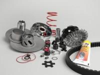 Variatore -MALOSSI Overrange V2010- Minarelli 50 ccm (tipo MA, MY, CW)