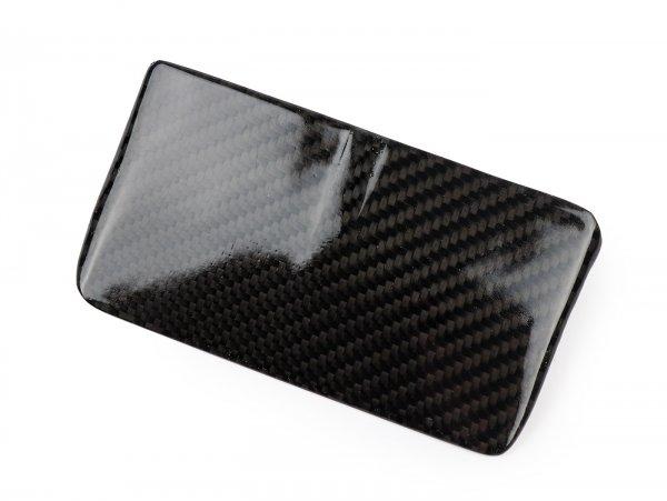 Tapa del faro trasero -TOMAS COMPOSITI, carbono real Vespa V50 Elestart (V5A3T), V50 N Special (V5A1T, V5A2T)
