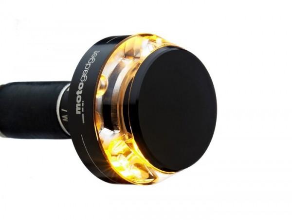 Blinker -MOTOGADGET Lenkerblinker- m.blaze disc - schwarz eloxiert - rechts