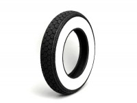 Tyre -CONTINENTAL White wall K62- 3.50 - 10 inch TL 59J (reinforced)