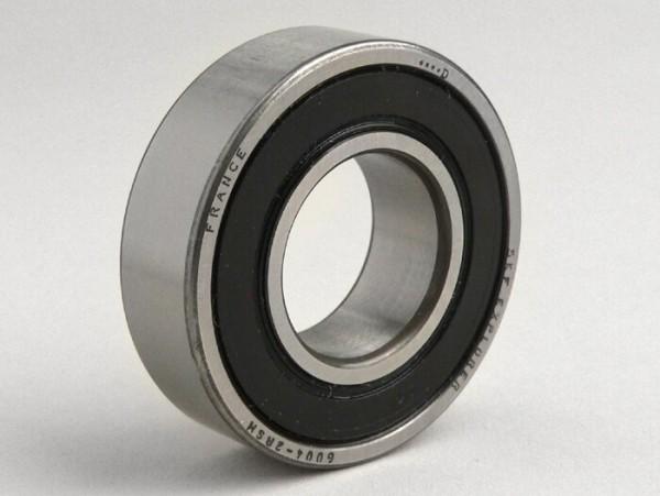 Kugellager -6004 2RS (beidseitig gekapselt)- (20x42x12mm) - (verwendet für Nebenwelle Lambretta LI, LIS, SX, TV (Serie 2-3), DL, GP)