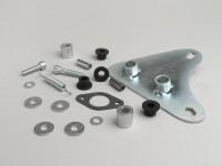 Supporto marmitta -TECNIGAS Next R, Next R cromato, RS 70 , IXIL GP1, Sport- Aprilia SR2000, DiTech