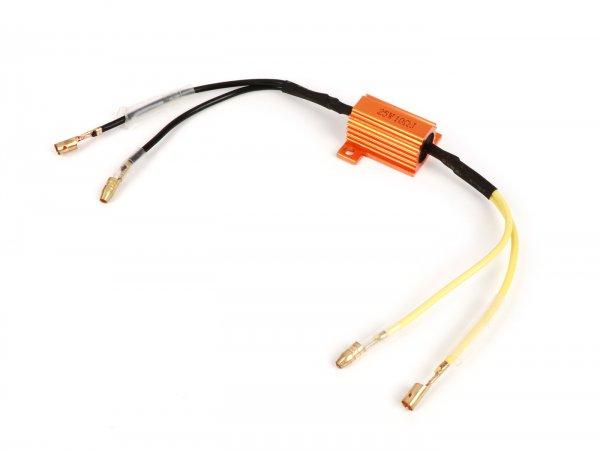 Vorwiderstand für LED-Blinker -25W 10 Ohm- Universal