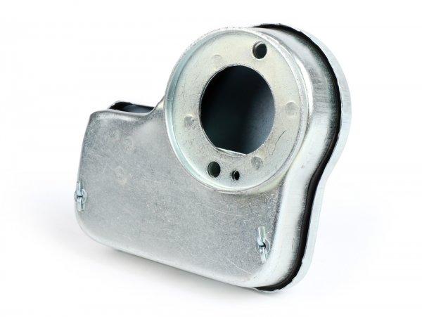 Blechluftfilter adaptiert -BOLLAG MOTOS Polini CP, Typ SHB- Vespa Wideframe VM1T, VM2T, VN1T, VN2T, VL1T, VL2T, VL3T, VB, VGL1, ACMA