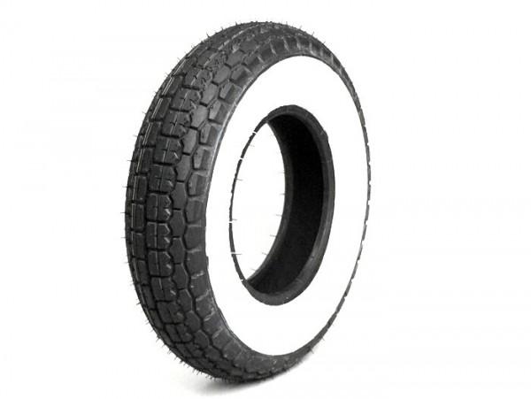 Neumático -SAVA/MITAS B13 ateral blanco- 4.00 - 8 pulgadas TT 66J