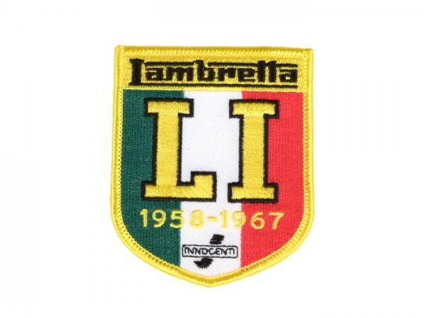 Patch  -Lambretta LI 1958-67- 65x80mm