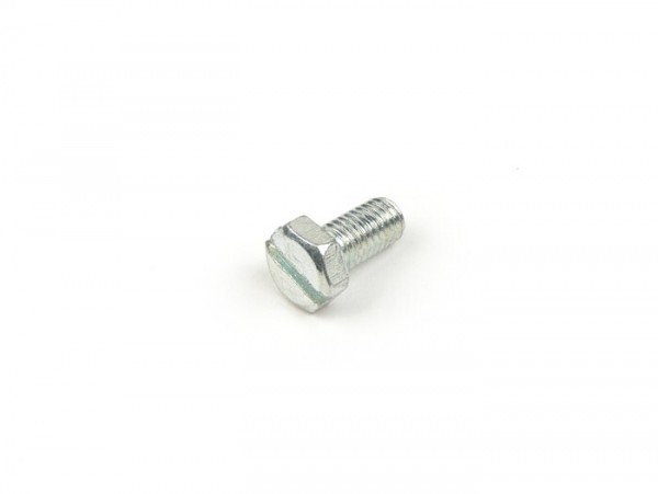 Schraube Sechskantkopf mit Schlitz -M5 x 10mm- (verwendet für Lüfterradabdeckung und Zylinderhaube Lambretta LI, LIS, SX, TV, DL, GP, Lui, J)